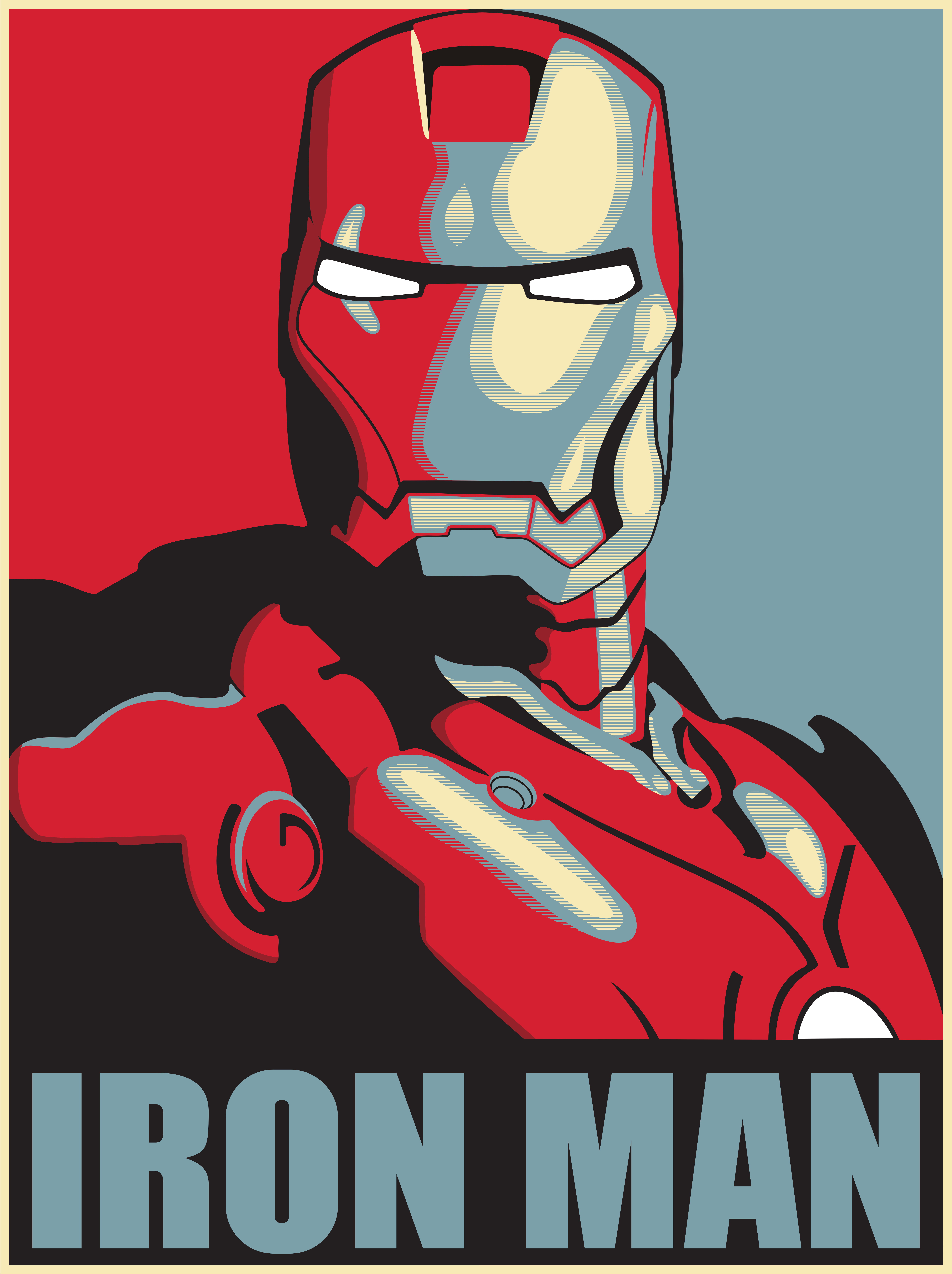 Blog Noturna Poster Geek Iron Man